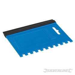 Combination Squeegee Spreader - 125 x 95mm - 6mm Teeth