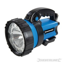 5W Lithium Rechargeable 3 Function Torch - 200 Lumen UK