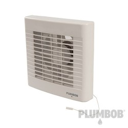 "Pull Cord Bathroom Extractor Fan - 100mm (4"")"