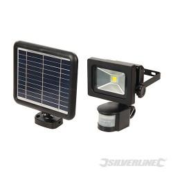 COB LED Solar-Powered PIR Floodlight - 3W PIR