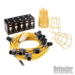 LED Festoon Kit 22m - 110V 100W
